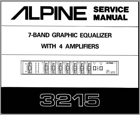 car equalizer wiring diagram alpine 3215 service manual, analog alley manuals