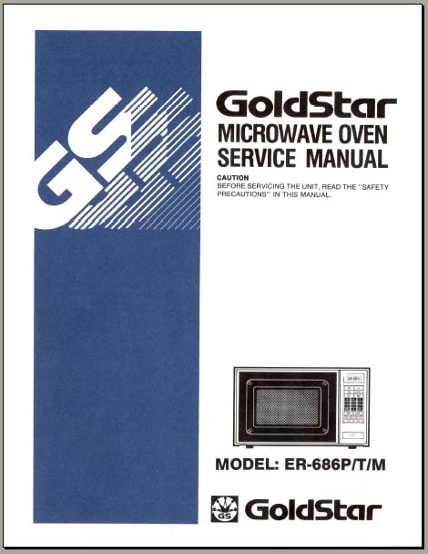 photos of goldstar microwave oven