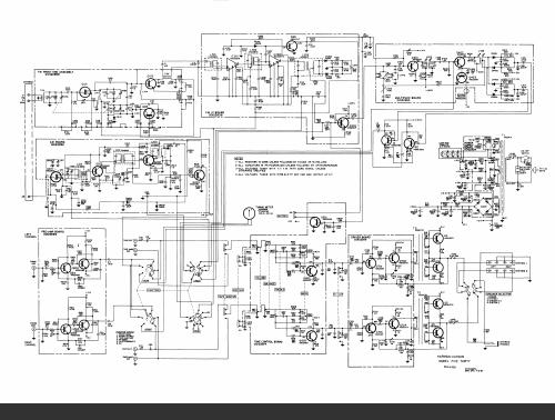 harman kardon 520  530 receivers schematic diagram  analog