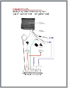 kenwood krc 210 wiring connection diagram  analog alley
