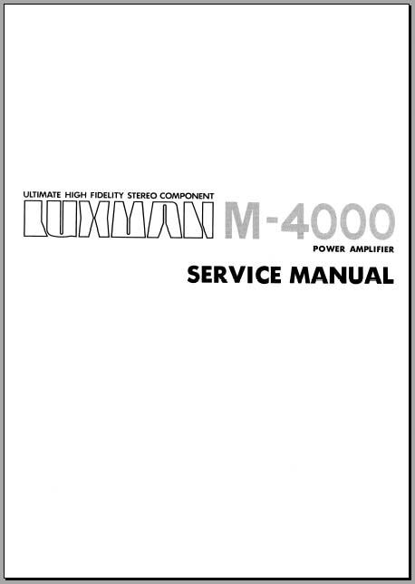 crown cdi 4000 manual pdf