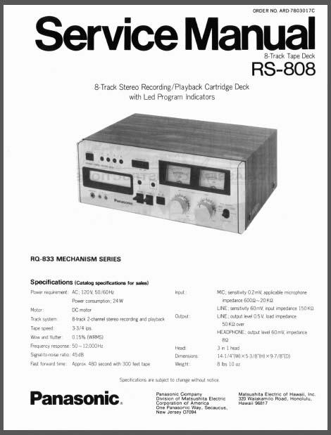 Panasonic Rs