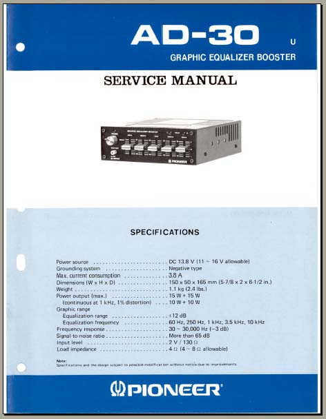 kenwood graphic equalizer wiring diagram