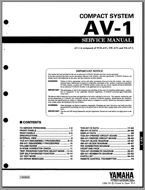 analog alley manuals