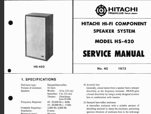 Hitachi Hs