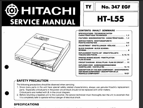 Hitachi Ht