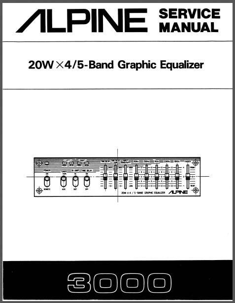 pioneer equalizer wiring diagram alpine 3000 service manual, analog alley manuals
