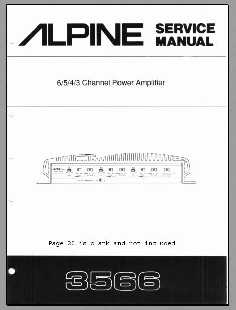 4 channel alpine amplifier wiring diagram alpine 3566 service manual, analog alley manuals
