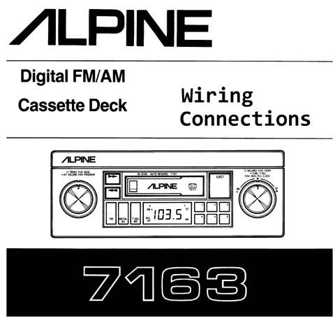 [SCHEMATICS_48EU]  Alpine 7163 Wiring Diagram. alpine cde 100 wiring diagram. alpine stereo  upgrade cab rennlist discussion forums. alpine iva w505 wiring diagram.  4721 5907 alpine stereo wiring diagram wiring library. alpine cde 124sxm | Alpine 7163 Wiring Harness |  | 2002-acura-tl-radio.info