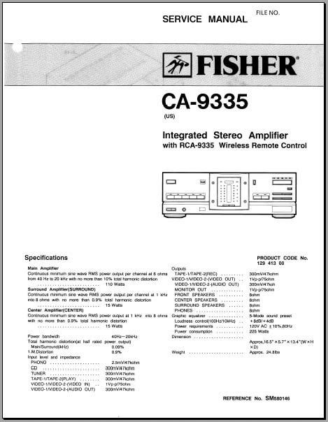 Fisher Ca