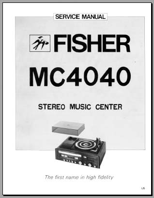 fisher mc 4040 service manual analog alley manuals rh analogalley com Fisher Minute Mount 2 Wiring Harness Diagram Fisher Minute Mount Wiring Diagram