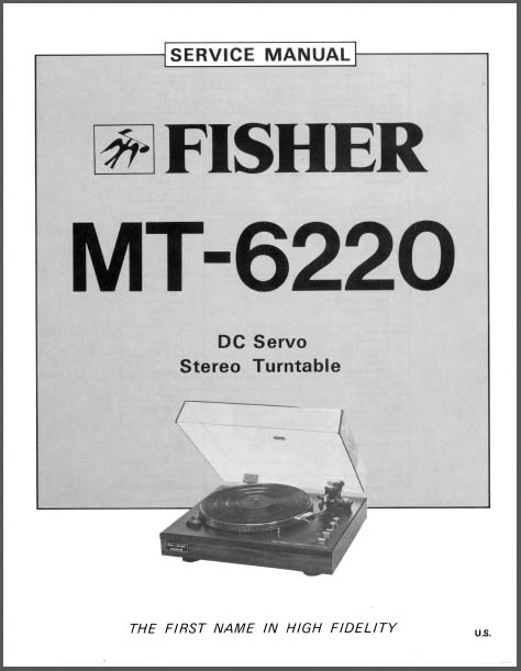 fisher mt 6220 service manual  analog alley manuals