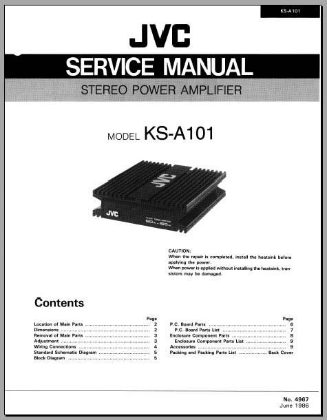jvc ks r130 car stereo wiring diagram kd r330 jvc car stereo wiring diagram jvc ks-a101 service manual, analog alley manuals