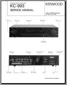 kenwood kc 993 service manual analog alley manuals. Black Bedroom Furniture Sets. Home Design Ideas