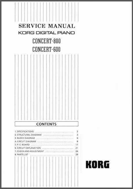 Korg Concert Concert