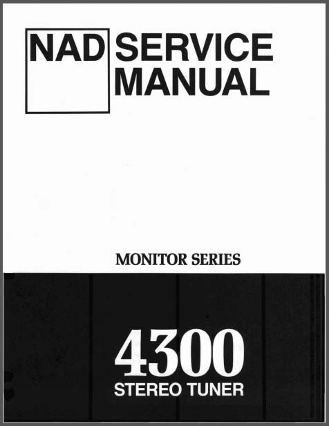 nad 4300 service manual  analog alley manuals