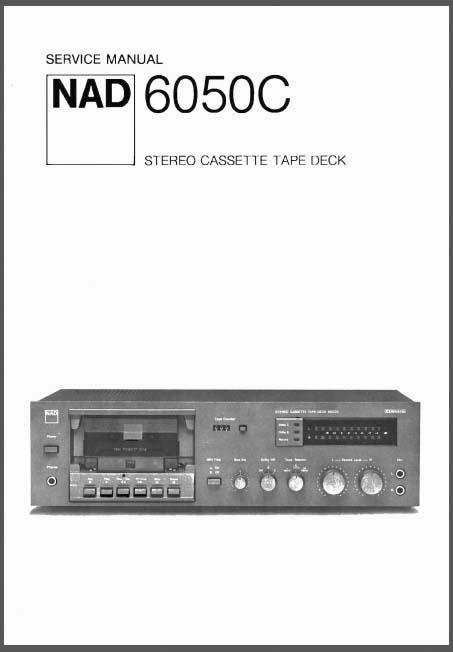 nad 6050c service manual analog alley manuals. Black Bedroom Furniture Sets. Home Design Ideas