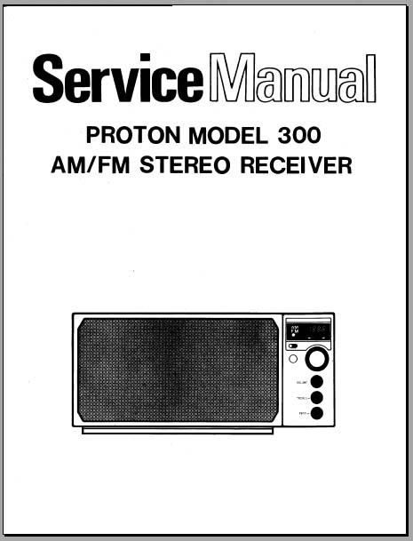 Proton 300 Service Manual  Analog Alley Manuals