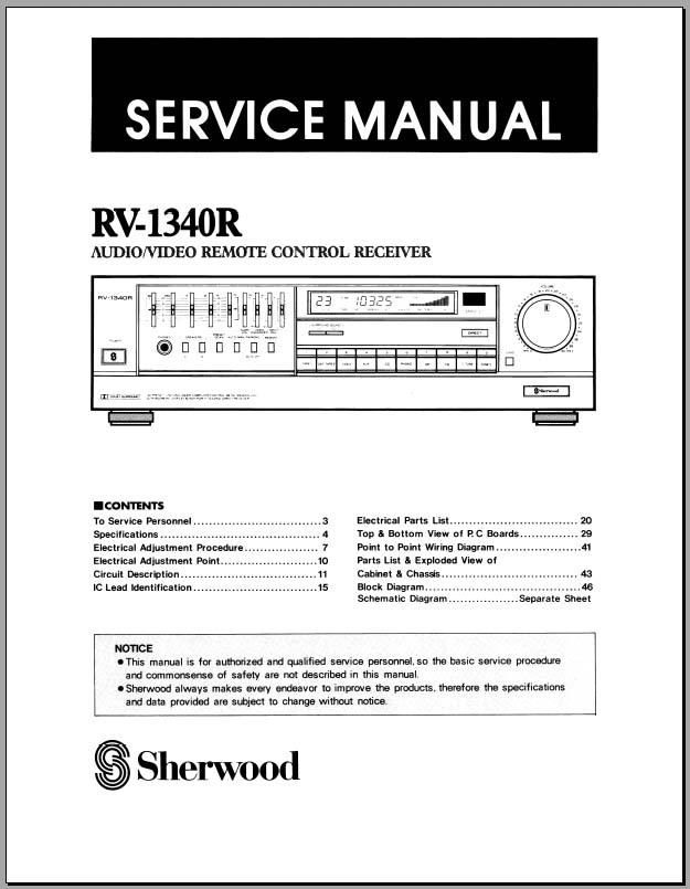 concertone wiring diagram e bike controller wiring diagram sherwood rv-1340r service manual, analog alley manuals #11