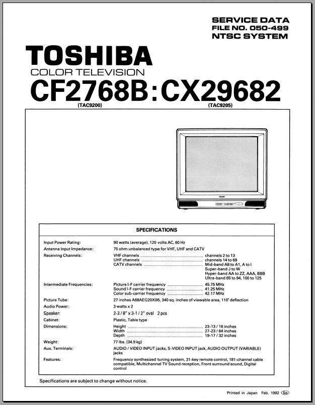 samsung crt tv service manual pdf