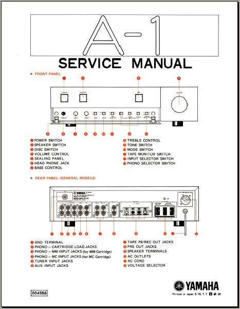 yamaha a 1 service manual analog alley manuals rh analogalley com yamaha dsp a1 service manual download yamaha b-1 service manual